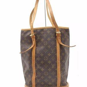 Authentic Louis Vuitton GM Bucket Bag